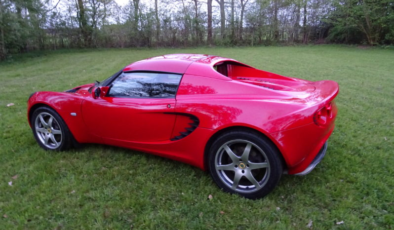 Elise S2 S Ardent red, 2006 RHD / Rechtslenker vol