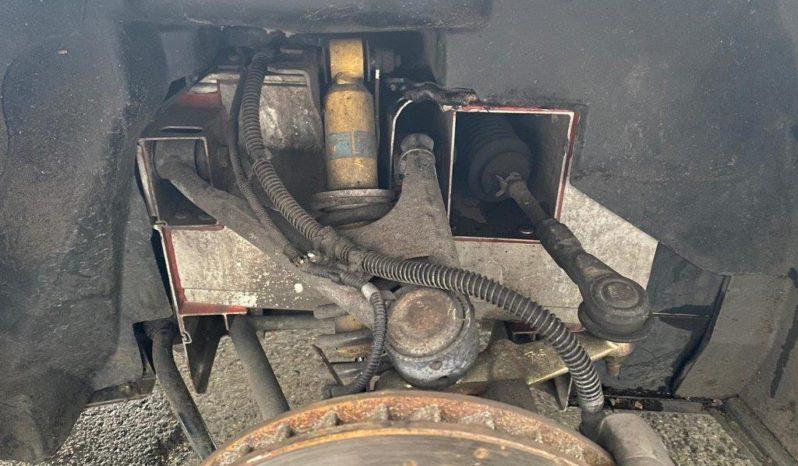 111R met schade, project vol