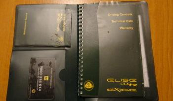 Elise SC RHD 220pk vol
